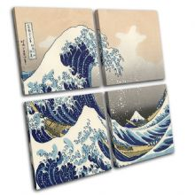 Hokusai Great Wave  Illustration - 13-0791(00B)-MP01-LO